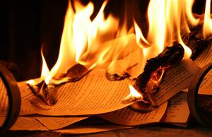 There are worse crimes than burning books