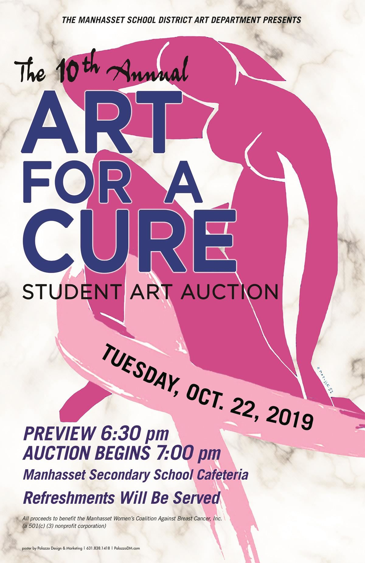 Art for a Cure Auction Oct. 22