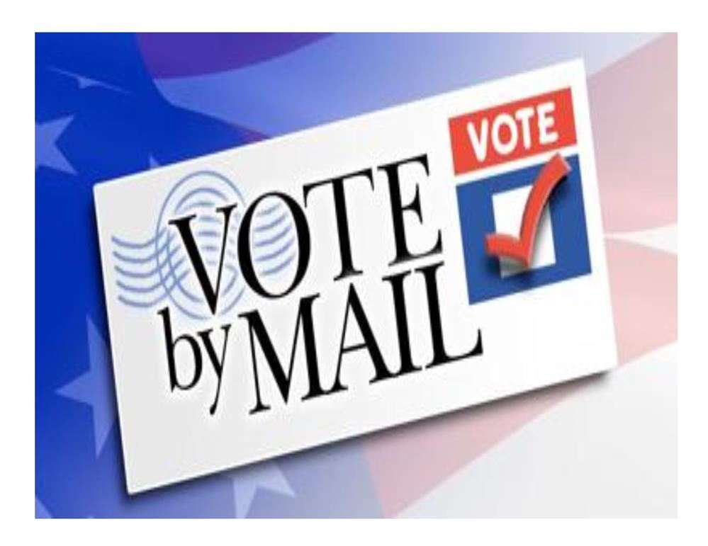 June 9 Mail or Drop-Off Vote and 2020/2021 Budget Information