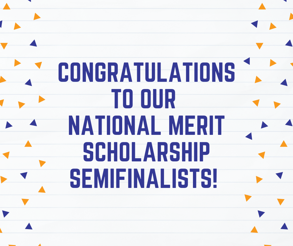 Thirteen students named as semifinalists in National Merit Scholarship Program