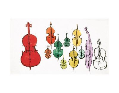 Andy Warhol, Eleven String Instruments