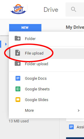 Mashburn, Rob / How To: Sending Files from Home & Google Drive