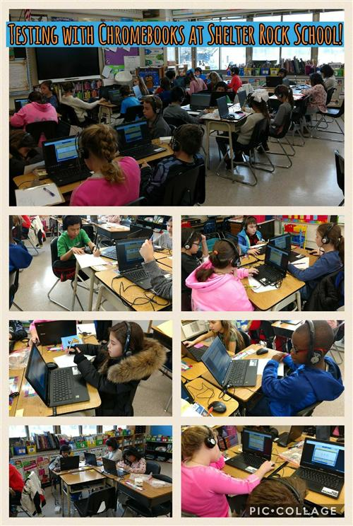 Testing with Chromebooks!