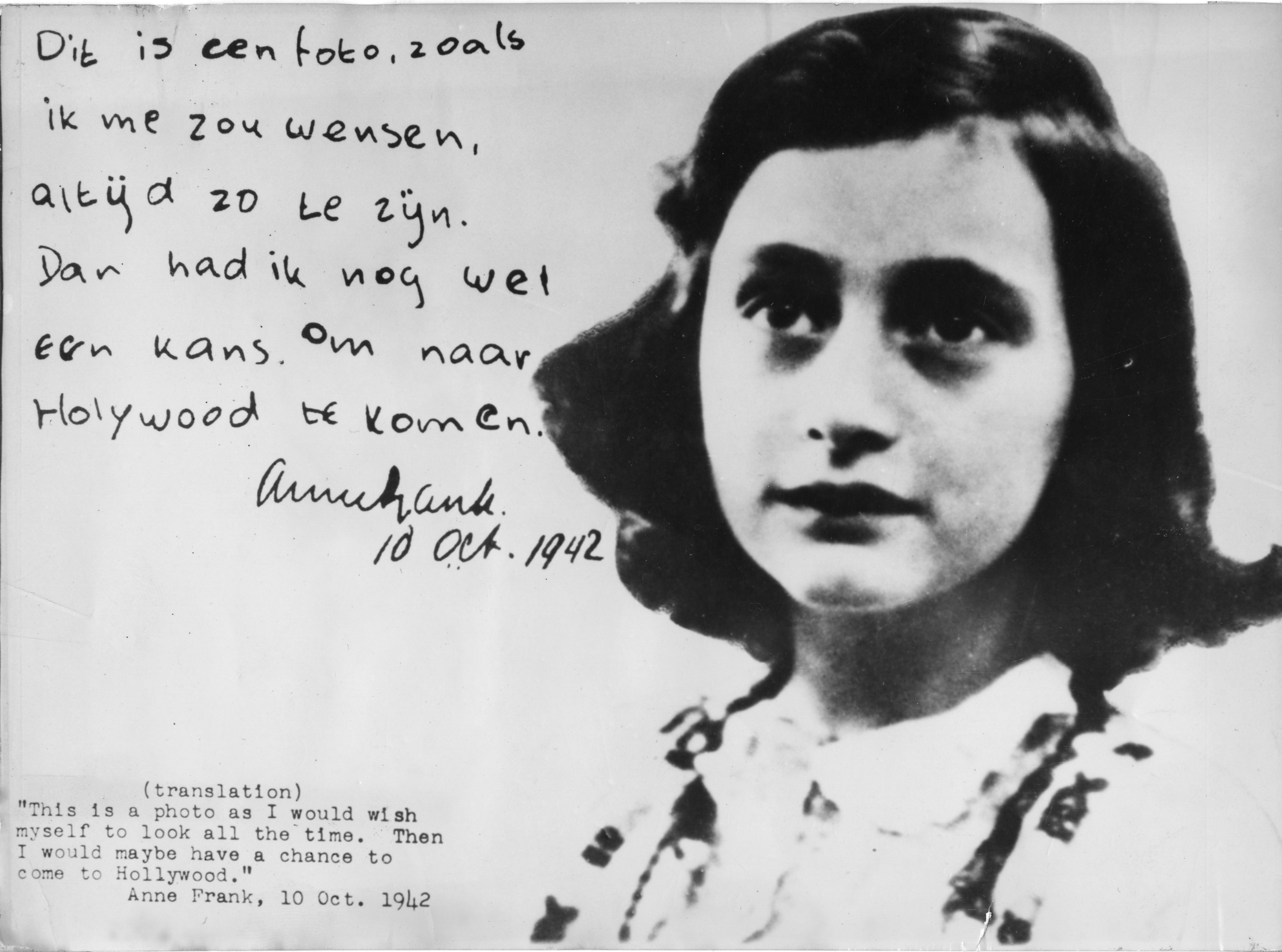 Friday Facts: Anne Frank | Man of la Book